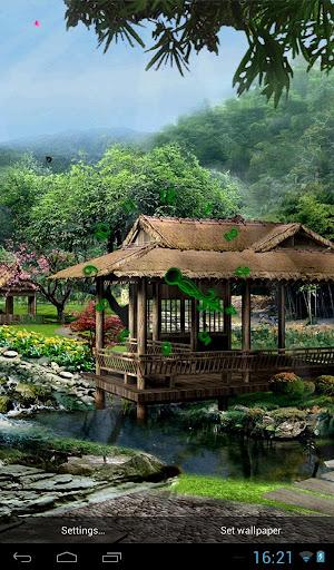 日本庭園3次元