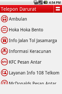 Telepon Darurat- screenshot thumbnail