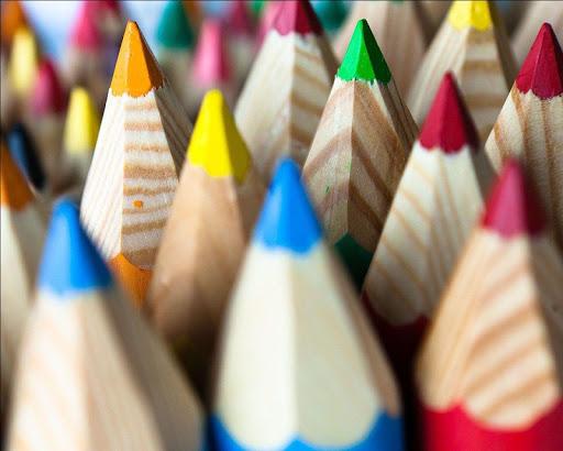 彩色鉛筆壁紙