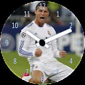 Cristiano Ronaldo Clock Widget