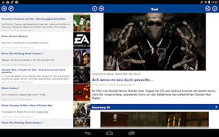 Screenshot of GamePro News