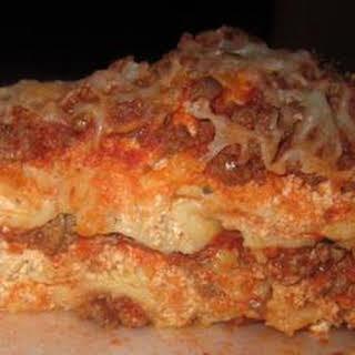 Slow Cooker Lasagna II.