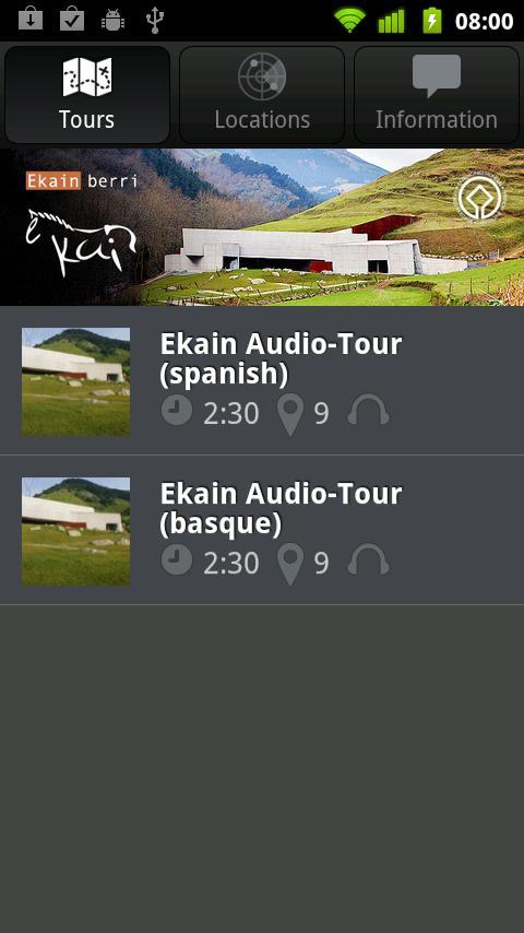 Ekain Audio-Tour- screenshot