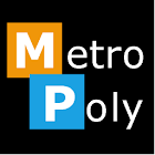 MetroPoly BLUE (Go Theme) icon