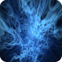 Blue Flames Live Wallpaper icon