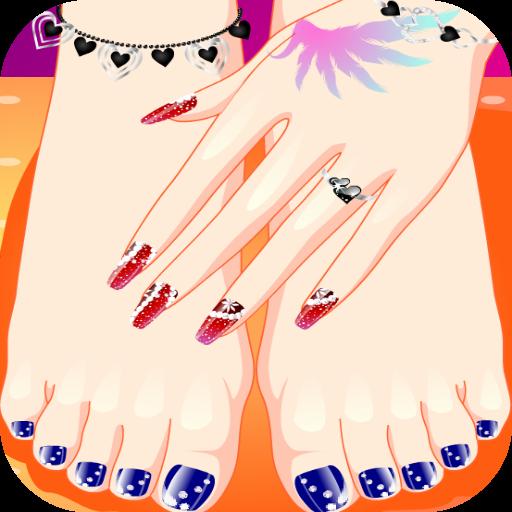 【免費休閒App】เกมส์ทำเล็บมือเล็บเท้า-APP點子