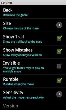 Maze by floorsix APK screenshot thumbnail 3