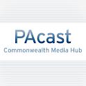 PAcast logo