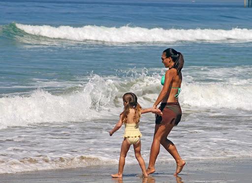 San-Diego-La-Jolla-Shores - La Jolla Shores Beach is perfect for children.