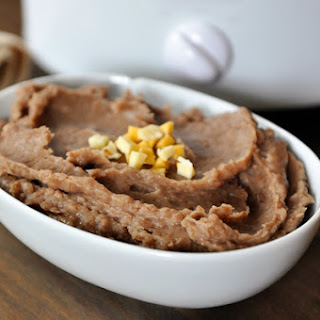 The Best Refried Beans {Made in the Slow Cooker and Fat-Free}