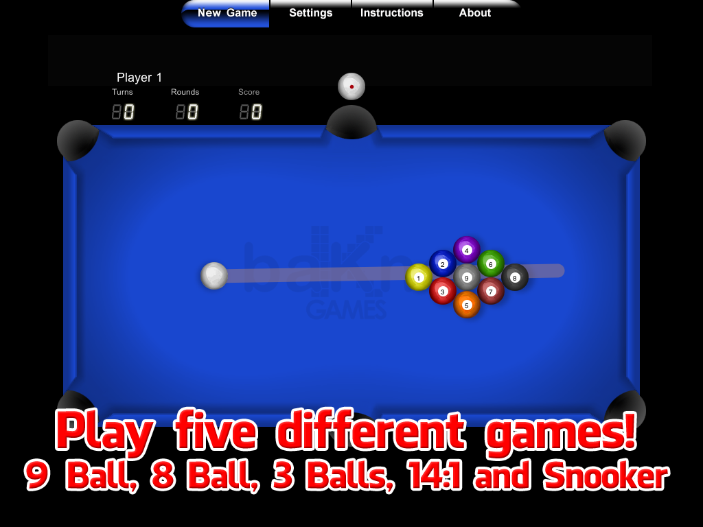 Pool - screenshot