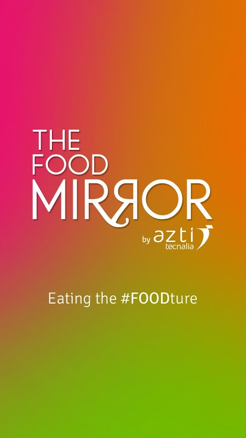 THE FOOD MIRROR- screenshot