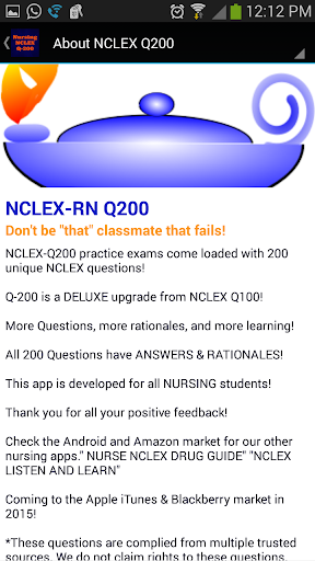 NCLEX Q-200 Nursing Q bank