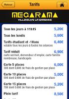 Screenshot of Mégarama