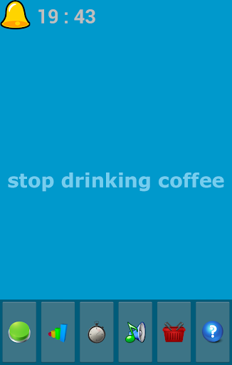 stop drinking coffee - free