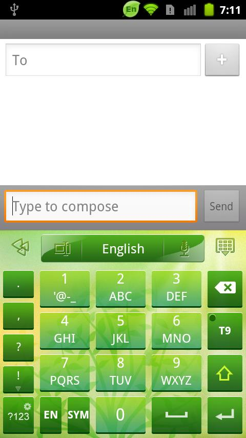 GO Keyboard Summer theme - screenshot