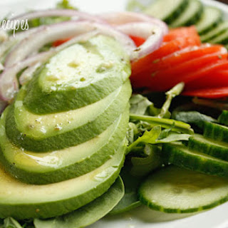 Avocado Salad with Citrus Vinaigrette