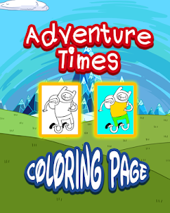 Adventure Coloring Time Kids