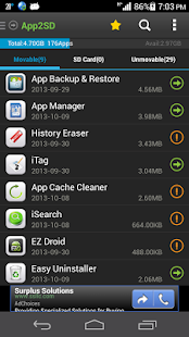 App2SD &App Manager-Save Space Screenshot