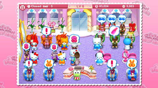 Hello Kitty Beauty Salon  screenshots 2