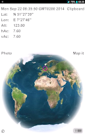 Screenshot of 3D Geo Globe