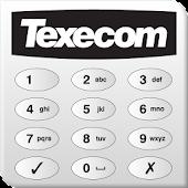 Texecom Keypad App