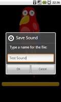 Screenshot of Talking Parrot Pro