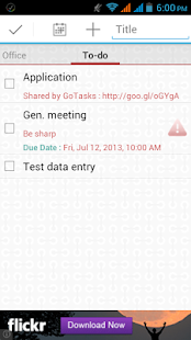 GoTasks - Google Tasks App- screenshot thumbnail