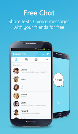 Tictoc - Free SMS & Text 4.0.16 screenshot 378798