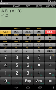Panecal Scientific Calculator - screenshot thumbnail