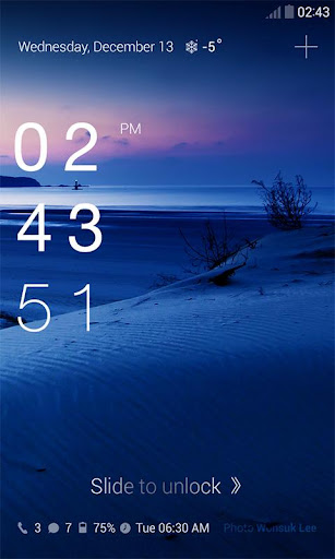Super Digital Clock DodolTheme