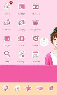 Sweetgirl icon theme