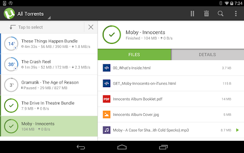 µTorrent®- Torrent Downloader v2.11.42