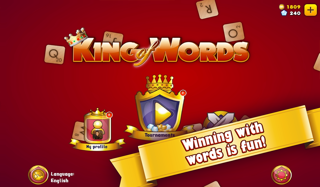King of Words- screenshot