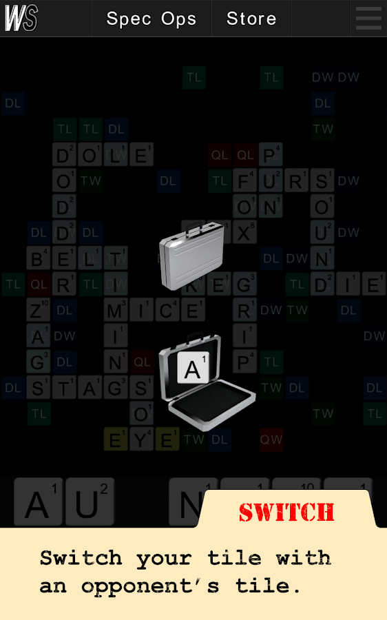 Wordspionage FREE- screenshot