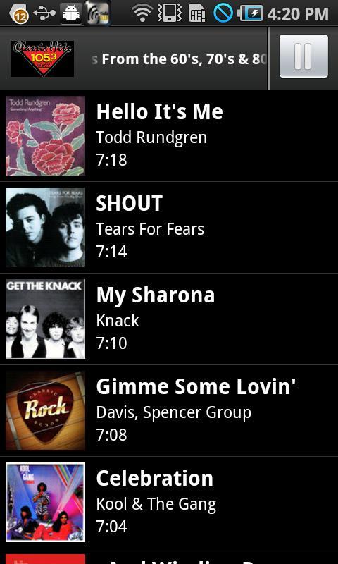 Radio Bold- screenshot
