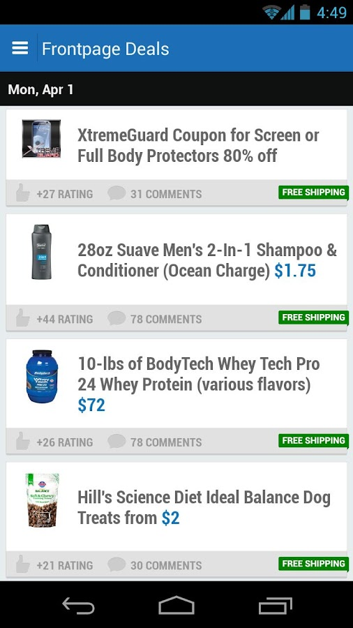 Slickdeals - Deals, Coupons - screenshot