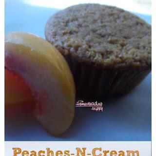 Peaches -n- Cream Muffins