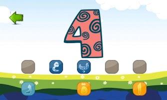 Screenshot of 1.2.3 Sun Arabic Words Game