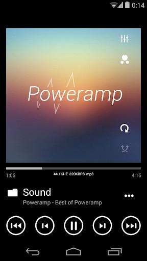 Skin for Poweramp Metro UI  screenshots 4