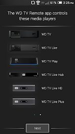 WD TV Remote Screenshot 1