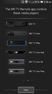 WD TV Remote- screenshot thumbnail