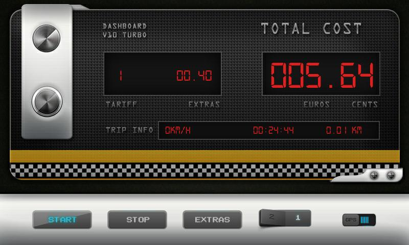 Greek Taxi Meter Pro- screenshot