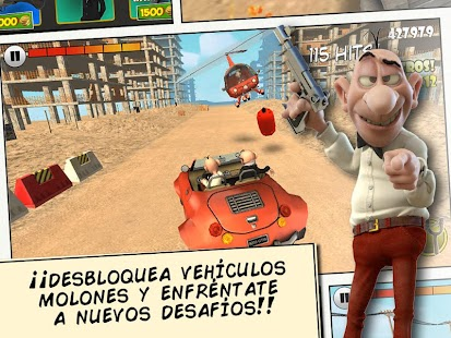 Mortadelo y Filemón videojuego Screenshot