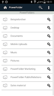 PowerFolder- screenshot thumbnail