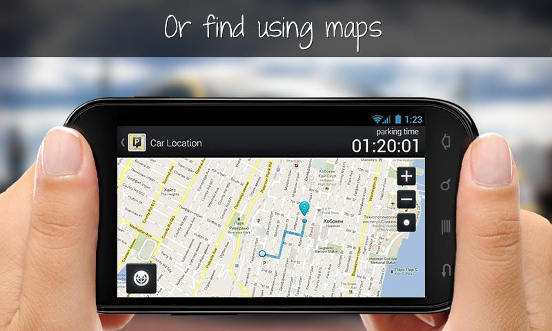 Park Me Right:Free Car Locator- screenshot