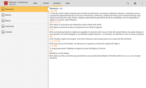 VOX Compact Spanish+Thesaurus- screenshot thumbnail