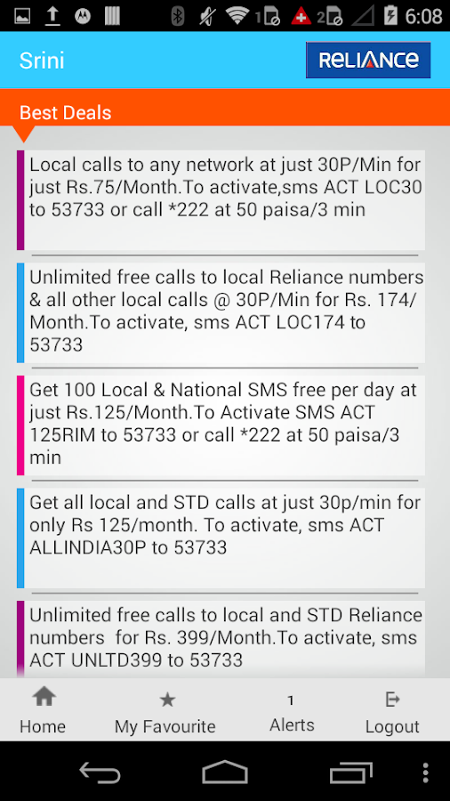 Reliance InstaCare- screenshot