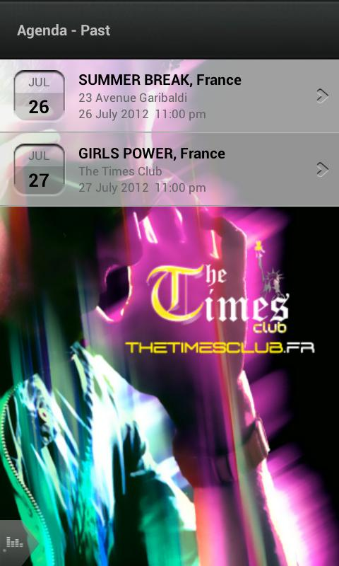 The Times Club - screenshot