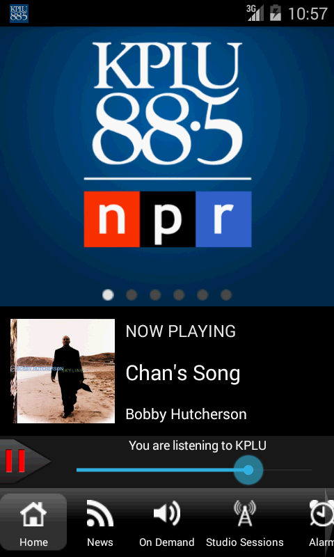 88.5 KPLU FM (Seattle/Tacoma) - screenshot